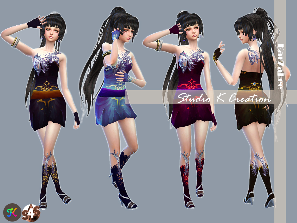Age of darkness - Aion's outfit by Karzalee