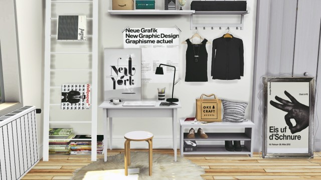 IKEA Office Set, Tjusig Hallway Set and DC Shoes Deco