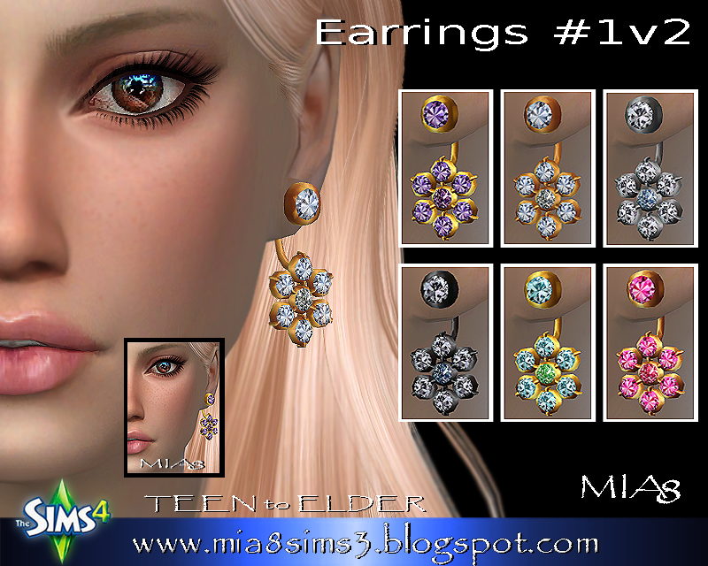 Earrings #1 v2 by Mia8