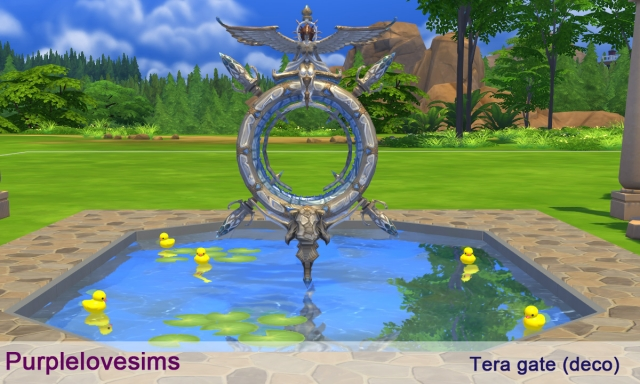 Tera Gate by PurpleLoveSims