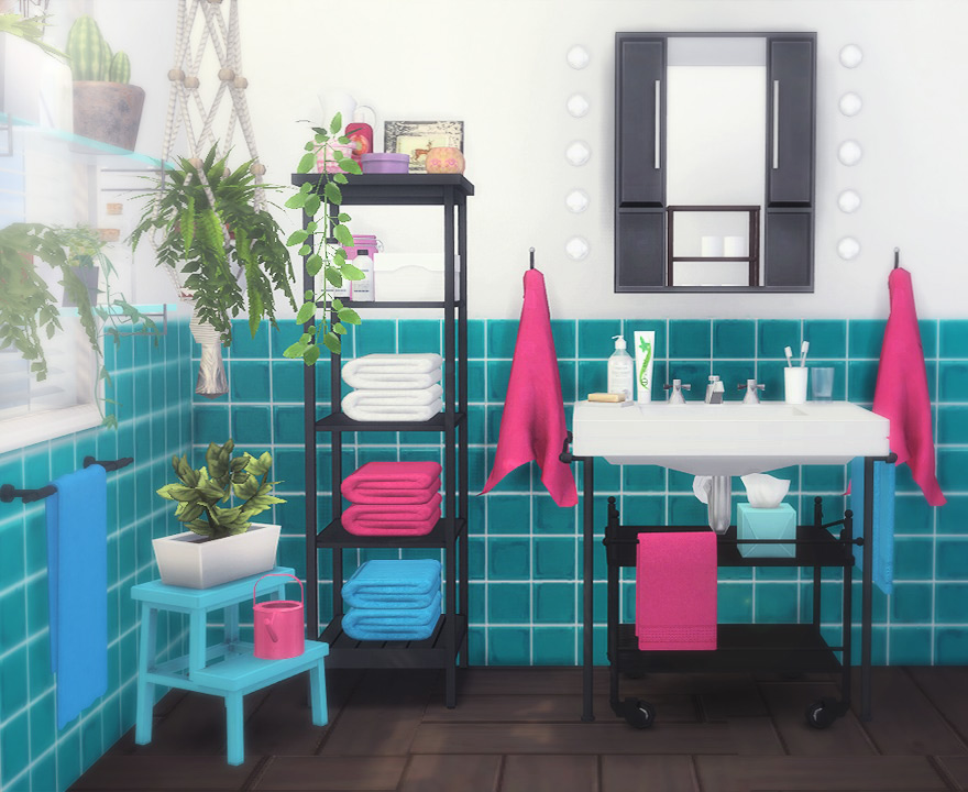 IKEA Inspiration Bathroom Set by MoonyCat