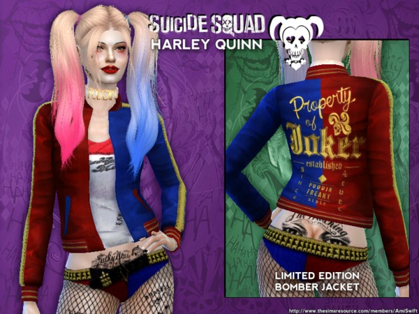 Suicide Squad's Harley Quinn Set by AmiSwift