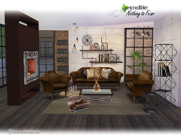 SIMcredible!'s Nothing To Fear Living Set