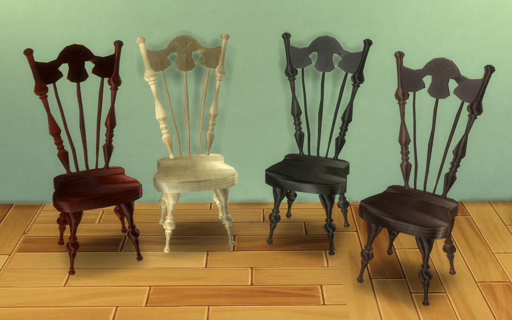 TS3 AMR Mad Hatter Chair Conversion by BigUglyHag