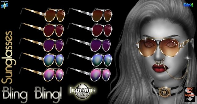 Sunglasses bling bling by jomsims