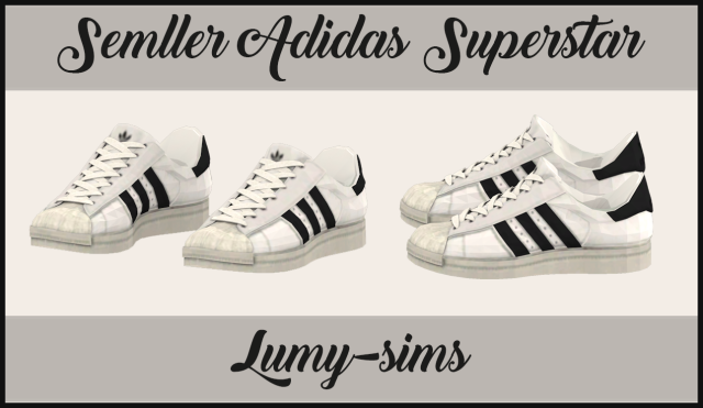Semller Adidas Superstar by Lumy-sims