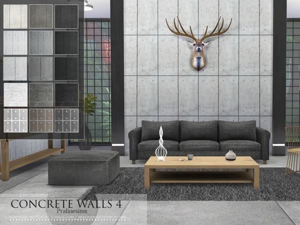 Concrete Walls 4 от Pralinesims