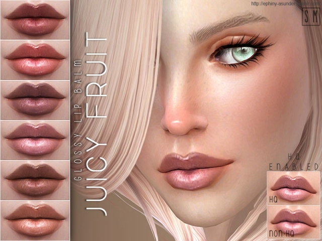 [ Juicy Fruit ] - Glossy Lip Balm by Screaming Mustard