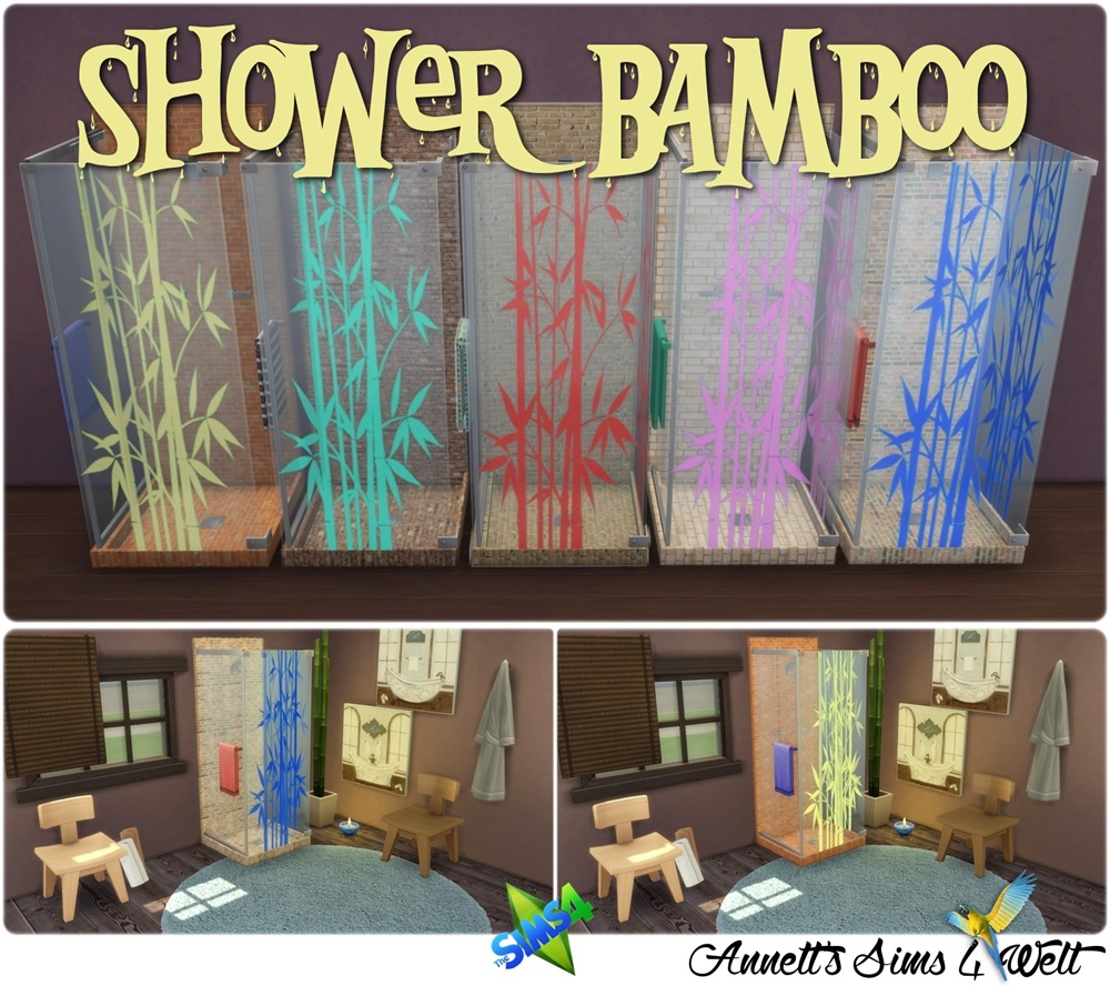 Bamboo Shower Recolors by Annett