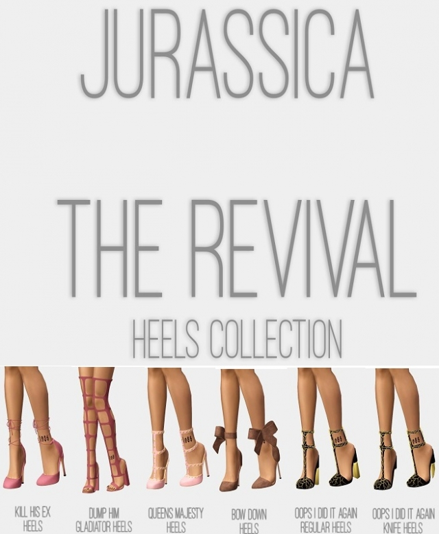 The Revival Heels Collection by j-urassica
