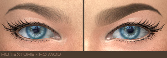Eyebrows 20, 21 HQ & non HQ by AlfSi