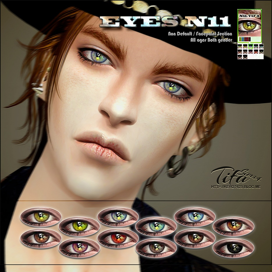 Eyes_N11 by Tifa