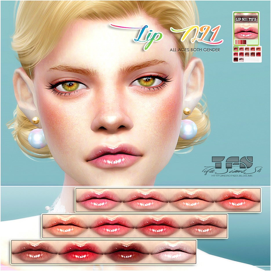 Lipstick N21_MF by Tifa