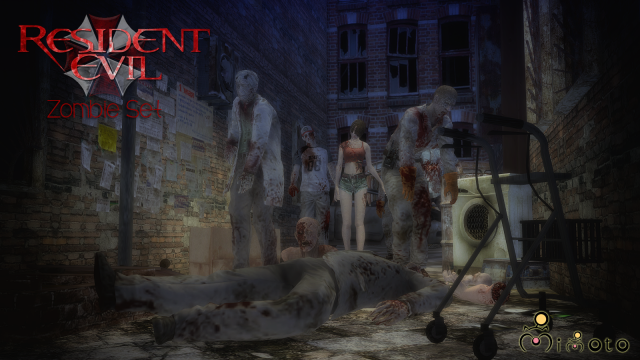 Resident Evil: Zombie Set by Mimoto