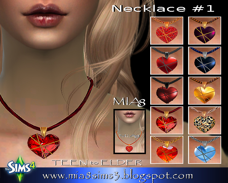 Necklace #1 by Mia8