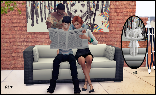 Reading newspaper by Rethdis-love