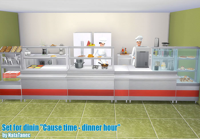 "Set for dinin ""Cause time - dinner hour"" by natatanec"