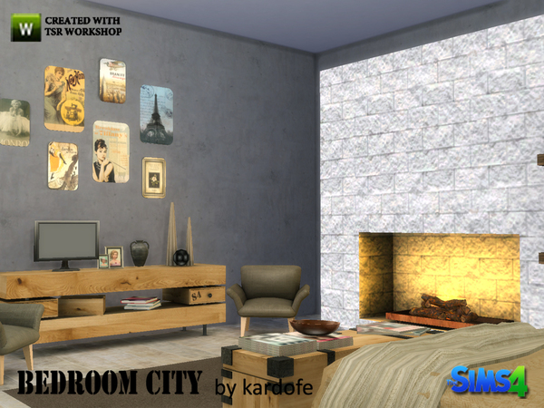 kardofe_Bedroom City by kardofe