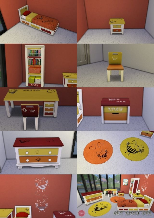 Bee Children's Bedroom Set by Dyokabb