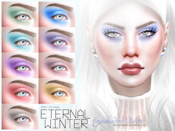 Eternal Winter Eyeshadow N30 by Pralinesims