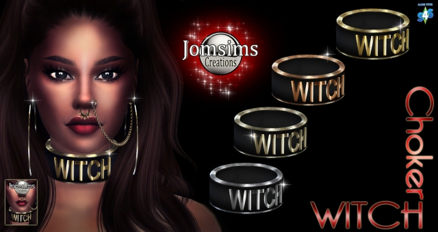 Witch choker by jomsims