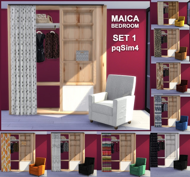 Maica Bedroom Set by pqSim4
