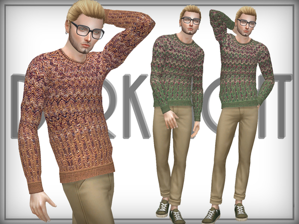 Knitted Wool-Blend Sweater by DarkNighTt