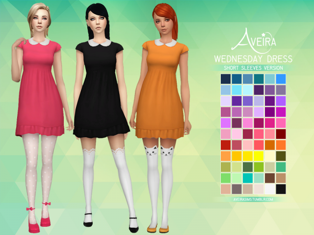 WEDNESDAY DRESS by Aveira