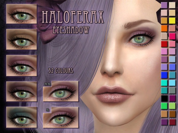 Haloferax eyeshadow by RemusSirion