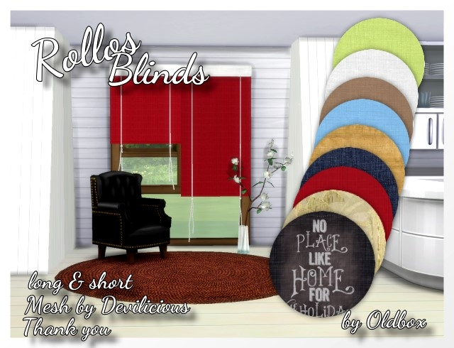 Rollos, Blinds by Oldbox