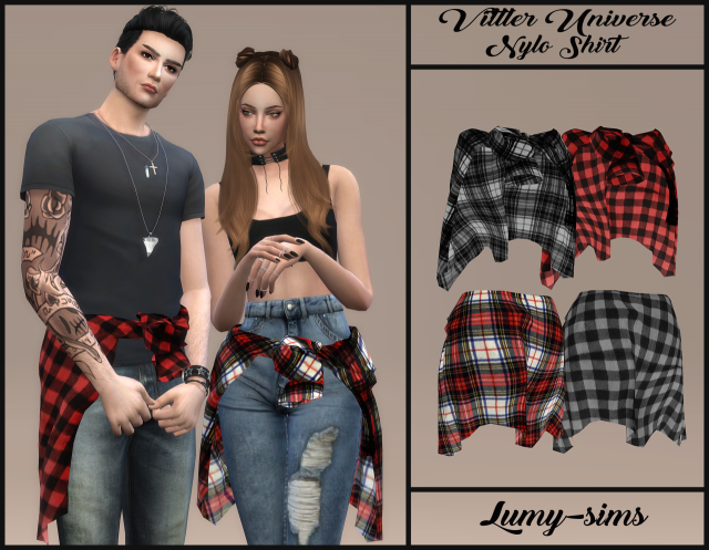 Vittler Universe Nylo Shirt by Lumy-sims