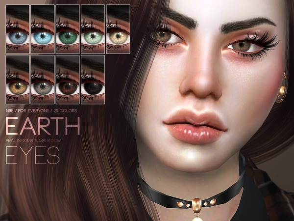 Earth Eyes N98 by Pralinesims