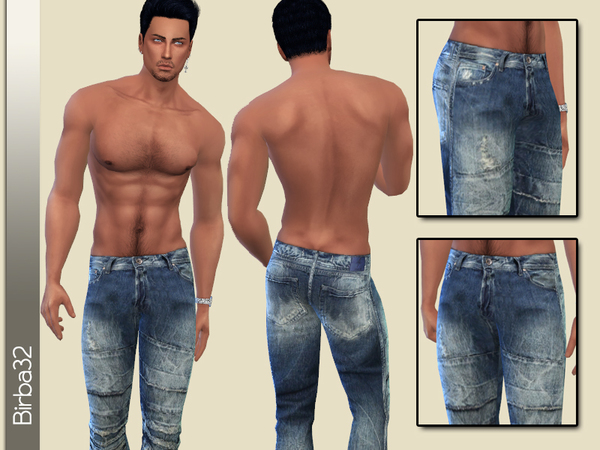 Worn Jeans for man by Birba32