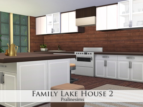 Family Lake House 2 by Pralinesims