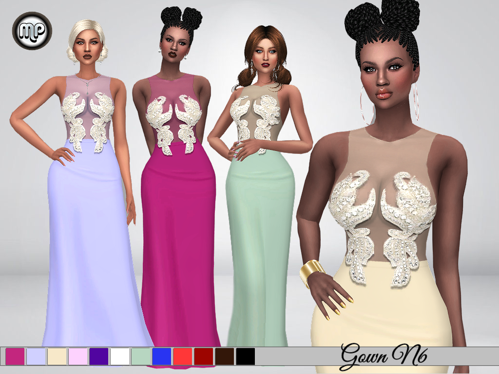 MP Gown N6 by MartyP