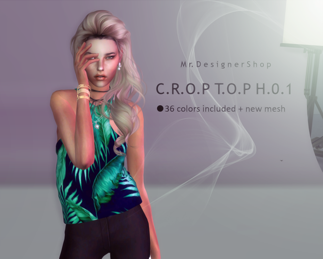 CROPTOP H01 by Mr.Designer Shop