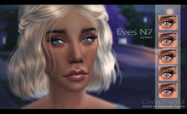 Eyes N7 by NastenaMS