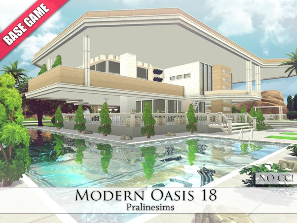 Modern Oasis 18 by Pralinesims