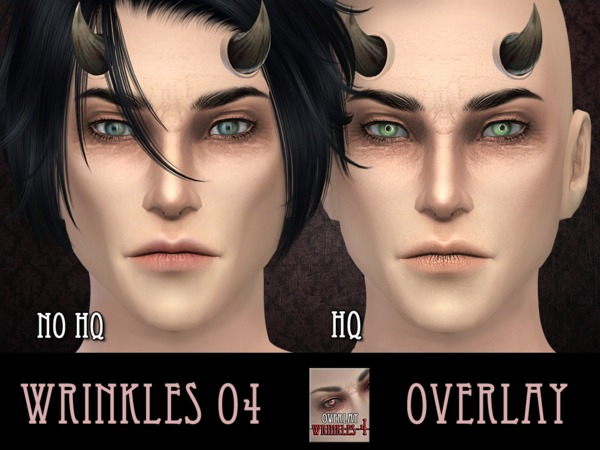 Wrinkles 4 - for males - OVERLAY by RemusSirion
