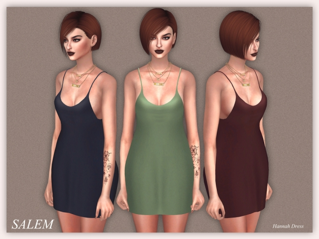 Hannah Dress by Salem2342