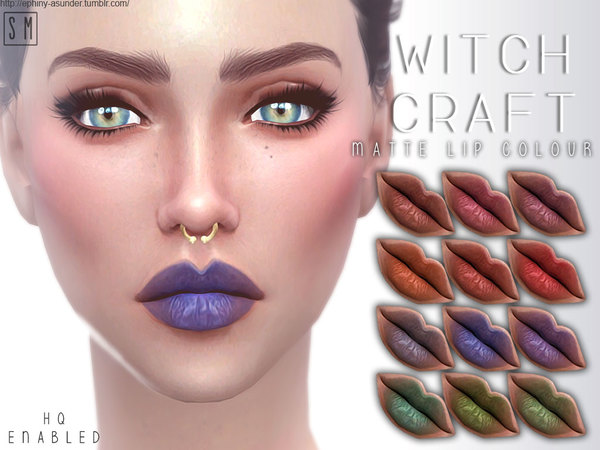 [ Witch Craft ] - Matte Lip Colour by Screaming Mustard