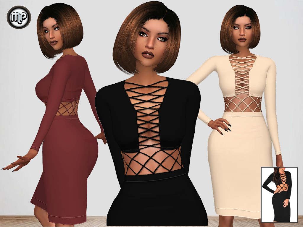 MP Bandage Dress by MartyP