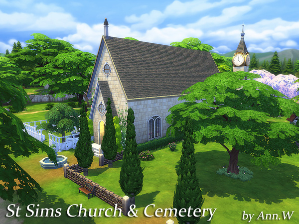 St Sims Church & Cemetery NO CC by annwang923