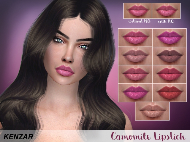 Camomile Lipstick by Kenzar