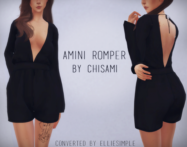 Amini Romper (by Chisami ) by EllieSimple