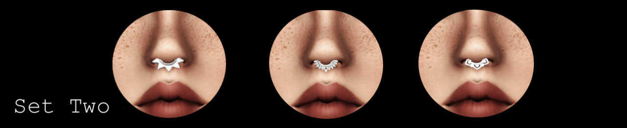 Septum Rings от lies-and-crooked-sims
