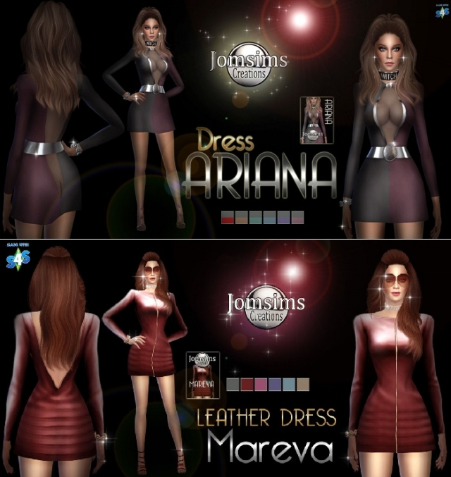 ARIANA DRESS & MAREVA DRESS by jomsims