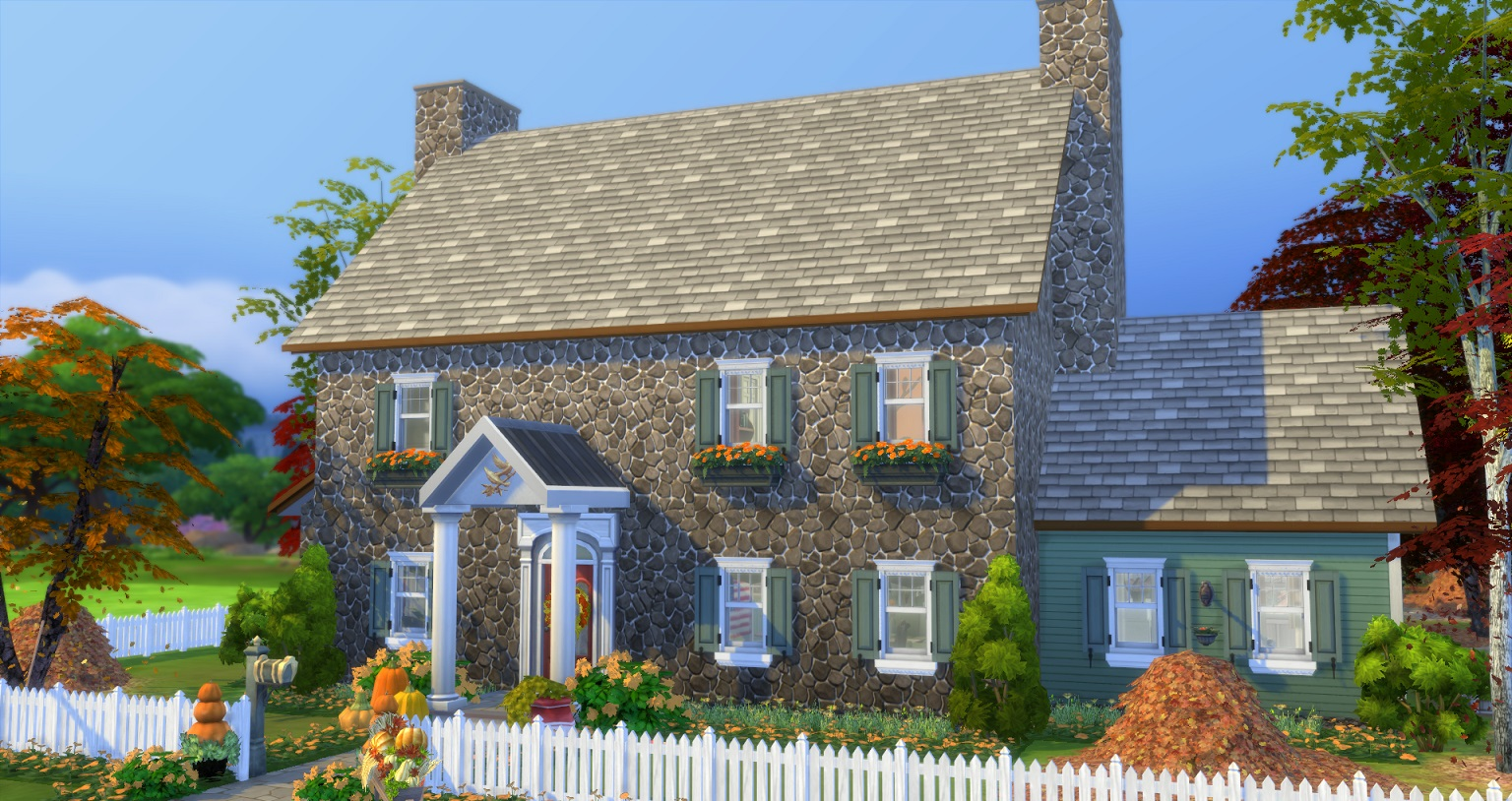 Autumnal Colonial (Base+CC, 3Bd/3Ba) by gizky