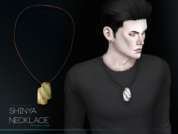 Shinya Necklace by Pralinesims