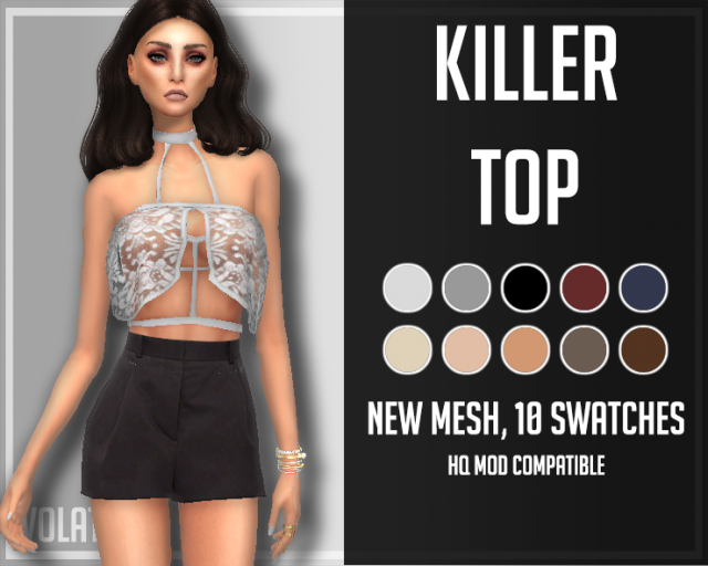 Killer Top by VolatileSims
